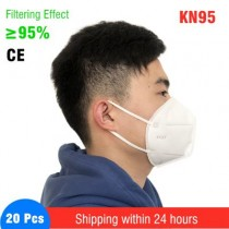 IN STOCK CE FFP2 KN95 Face Mask FAST SHIPPING
