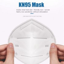 Kn95 PPE FFP2 Disposable 5-Ply Protective Mask with Earloop